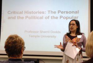 Clare Parfitt speaking