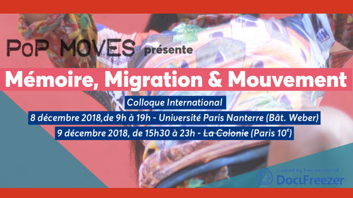 Memoire, Migration and Movement