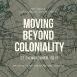 Moving Beyond Coloniality banner