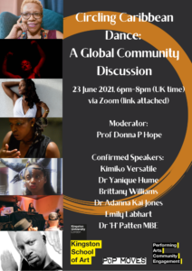 Circling Caribbean Dance: A Global Community Discussion